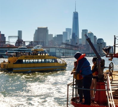 SMA Family Day Trip Aboard the Fireboat (October 2014)